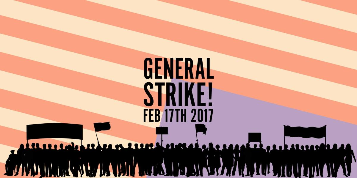 Strike against Trump: February 17